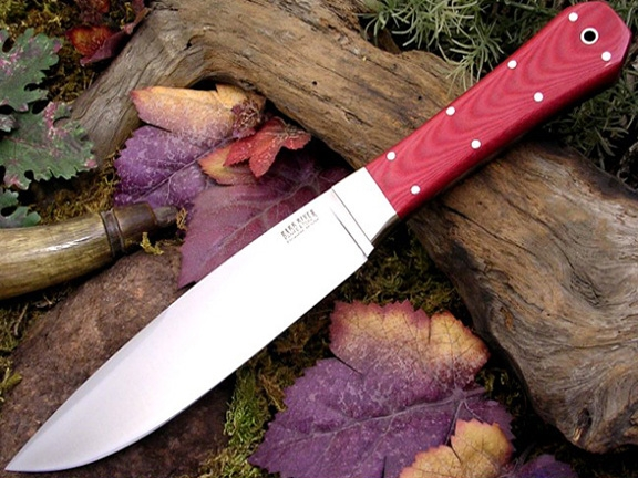 Нож Bark River Rogue Red Linen Micarta