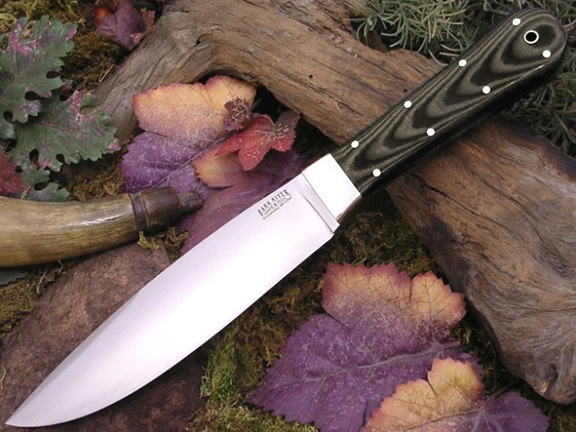 Нож Bark River Rogue Midnight Tiger G-10