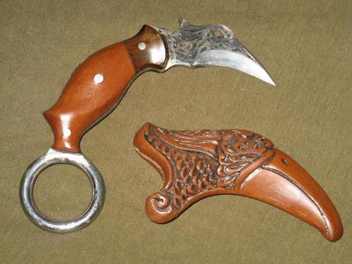 Нож керамбит Бурунг