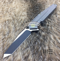 Нож WE Knife 610 Black Blade