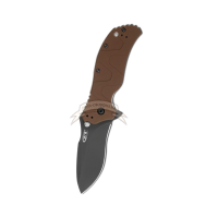 Нож Zero Tolerance 0350BRN Brown Handle SpeedSafe