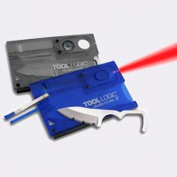 Карточка ToolLogic Survival card SVC2B Blue